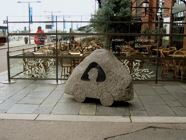 Автомобиль каменного века. Фото: Ирина Рудская/Великая Эпоха (The Epoch Times)