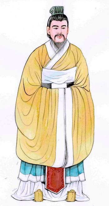 Сяо Хэ, премьер-министр в династии Хань. Иллюстрация: Блу Сяо/Великая Эпоха (The Epoch Times)