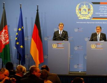 Конференция  в Бонне: Афганистан будет получать помощь до 2024 года. Фото: Ralph Orlowski/Getty Images