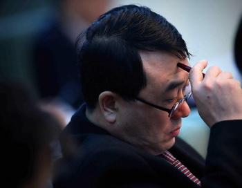 Ван Лицзюнь, начальник Управления общественной безопасности Чунцина, на заседании Национального народного конгресса, 6 марта 2011 года, Пекин, Китай. Фото: Feng Li/Getty Images