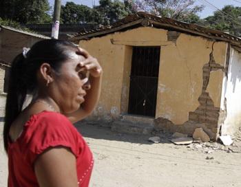 Серия землетрясений в Мексике. Фото: Pedro PARDO/AFP/Getty Images