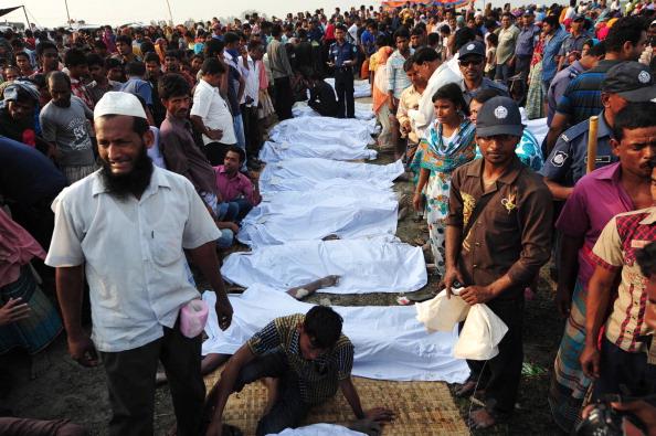На пароме в Бангладеш погибло 112 человек.Фото: Strdel/Getty Images.