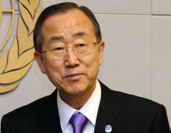 Генеральный секретарь ООН Пан Ги Мун. Фото: Getty Images