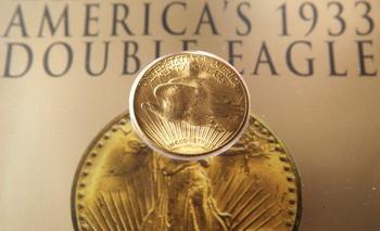 Самая дорогая монета Double Eagle. Фото: Getty Images