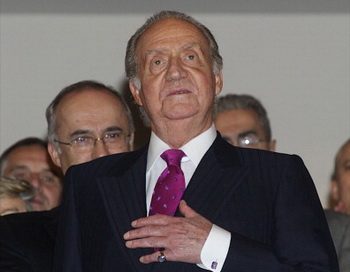 Король Испании Хуан Карлос (C). Фото: Getty Images