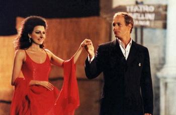 Лючия Алиберти вместе с американским певцом Майклом Болтоном. Фото предоставлено  Lucia Aliberti