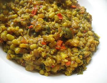 Индийское блюдо «Фасоль маш». Фото: foodandspice.blogspot.com