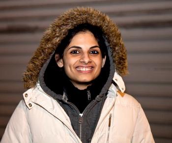Маназ Дамания, студентка актёрского факультета. Фото с сайта theepochtimes.com