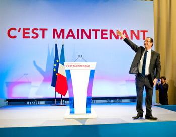 На президентских выборах во Франции лидирует Франсуа Олланд. Фото: Getty Images