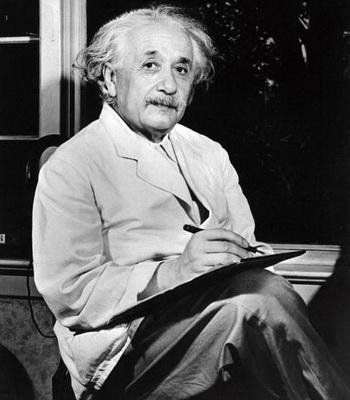 Альберт Эйнштейн, пытавшийся оспорить теорию квантовой механики и, тем самым, внесший огромный вклад в ее развитие. Фото: AFP/AFP/Getty Images
