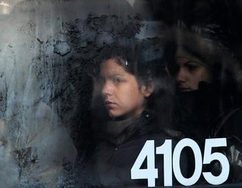 Ледяной холод в Европе. Фото: DIMITAR DILKOFF/AFP/Getty Images