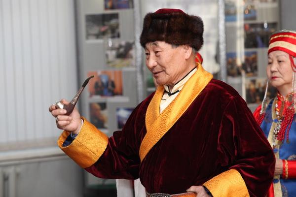 Празднование Сагаалгана прошло в Иркутском краеведческом музее. Фото: Николай Ошкай/Великая Эпоха (The Epoch Times)