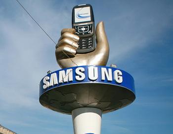 Логотип корпорации Samsung. Фото РИА Новости