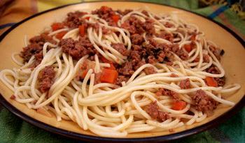 Болонские спагетти. Фото: Хава ТОР/Великая Эпоха