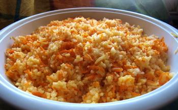 Рис с морковкой. Фото: Хава ТОР/Великая Эпоха