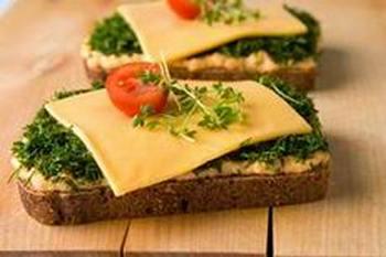 Бутерброды витаминные. Фото: herebride.com