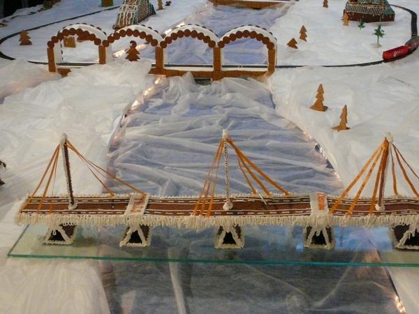 Городок из душистого печенья пипаркукас. Фото: Вия КЛАУЦАНЕ/Великая Эпоха (The Epoch Times)