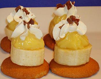 Праздничные рецепты: крошечные банановые кусочки. Фото: Сандра Шилдс/Великая Эпоха (The Epoch Times