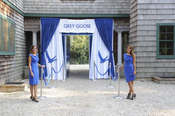 Фоторепортаж об ужине в ресторане  Серый гусь. Фото: Eugene Gologursky/Getty Images for Grey Goose