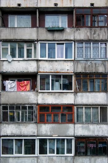 Вид из окна для многих россиян. Фото с сайта liveinternet.ru