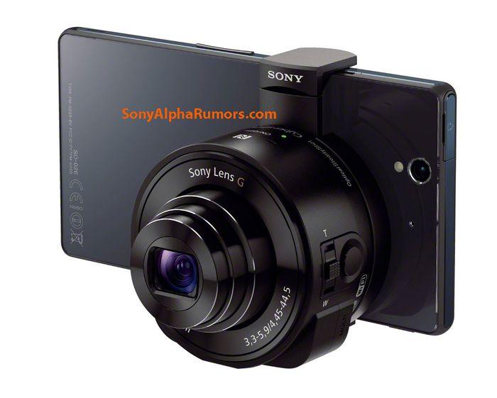 Объектив DSC-QX100+смартфон Sony. Фото: sonyalpharumors.com