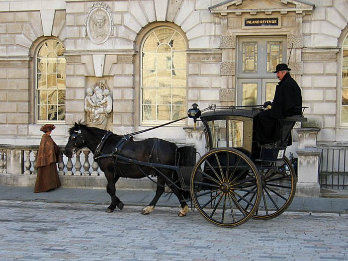 Английские кэбы. Фото: Andrew Dunn/ wikimedia.org