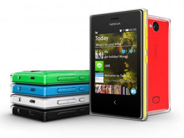 Бюджетный WindowsPhone 8 — Asha 503. Фото: Nokia.com