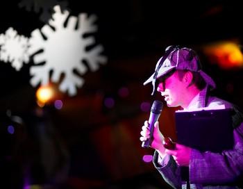 Весёлый ведущий. Фото с сайта www.pavelshashlov.ru