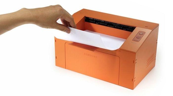 Концепт принтера Clip от Samsung. Фото: samsung.com