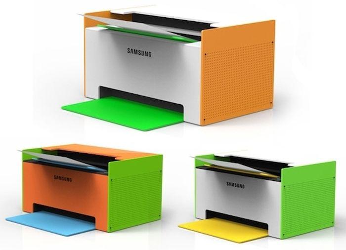 Концепт принтера Mate от Samsung. Фото: samsung.com