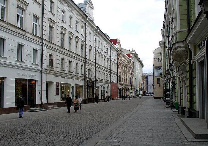 Столешников переулок. Фото с сайта ru.wikipedia.org