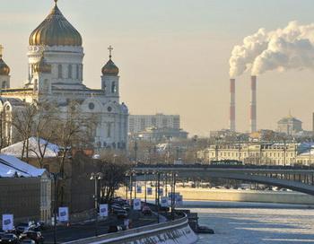 Мороз в Москве. Фото РИА Новости