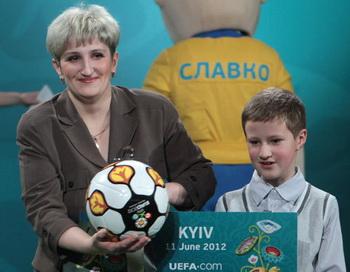 Начало продажи билетов на Евро-2012. Фото РИА Новости
