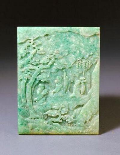 Коллекция нефритовых изделий дворца-музея Гугун в Пекине. Фото: news.zhengjian.org