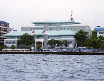 Президентский дворец. Мальдивская Республика. Фото из архива РИА Новости