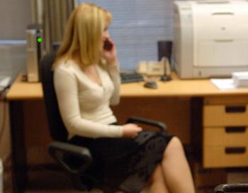 Работа в офисе. Фото из архива РИА Новости