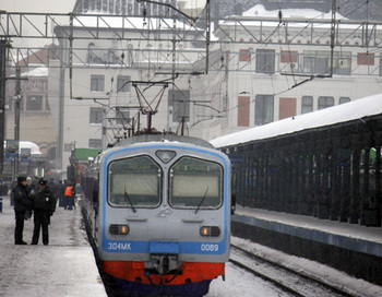 Электричка. Фото из архива РИА Новости