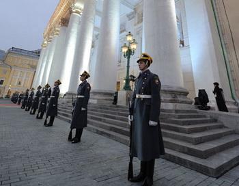 Открытие исторической сцены Большого театра. Фото РИА Новости