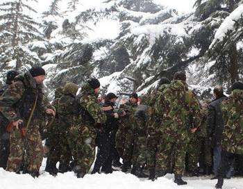 Ситуация в Южной Осетии. Фото РИА Новости