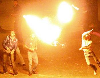 В Каире произошли столкновения торговцев с демонстрантами. Фото РИА Новости