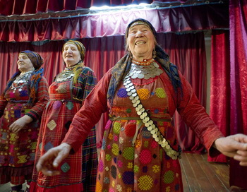 «Бурановские бабушки». Фото: Natalia Kolesnikova/AFP/Getty Images