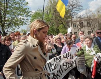 Дочь Тимошенко Евгения обратилась к правительству Германии с просьбой спасти жизнь её матери. Фото: AFP/Getty Images