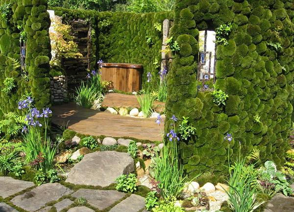 Сады на крышах. Фото с сайта gardener.ru