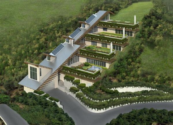 Сады на крышах. Фото с сайта archdesignfoto.com