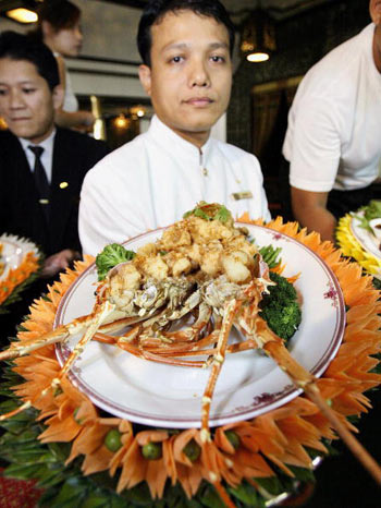 Блюдо китайской кухни. Фото: TOSHIFUMI KITAMURA/AFP/Getty Images