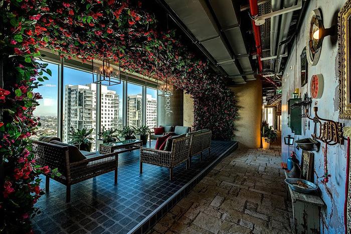 Дизайн оформления офиса GOOGLE в Тель-Авиве. Фото с сайта design001.ru