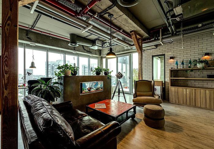 Дизайн оформления офиса GOOGLE в Тель-Авиве. Фото с сайта ссылаться design001.ru