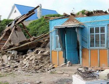 Последствия наводнения в крымске три