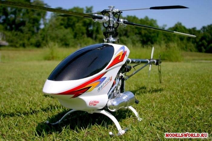 Радиоуправляемый вертолёт от компании Thunder Tiger. Фото с сайта www.modelsworld.ru
