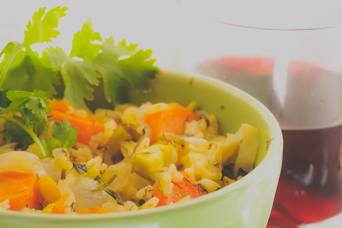 Овощное рагу с рисом. Фото: Хава Тор/Великая Эпоха (The Epoch Times)